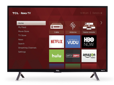 "TCL 32"" Class HD (720P) Roku Smart LED TV - Quality & Original Product All From USA - RivPage.Com"