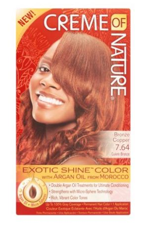 Creme of Nature Exotic Shine Color Intensive Red 7.6 Permanent Hair Color - Quality & Original product from USA - RivPage.Com