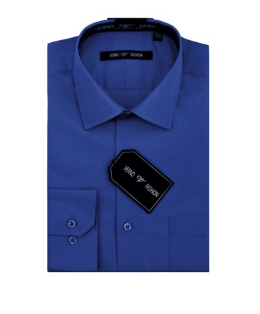 Verno Big Men's Classic Fashion Fit Dress Shirt - Quality & Original Product All From USA - RivPage.Com