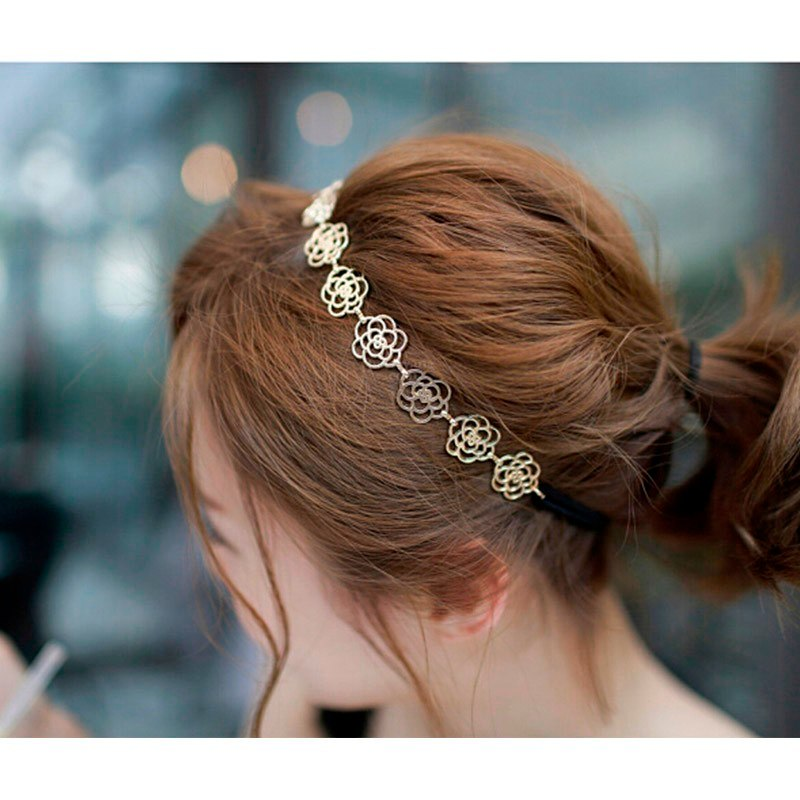 Flower Chain Hair Band,  - Whaleycorn.com