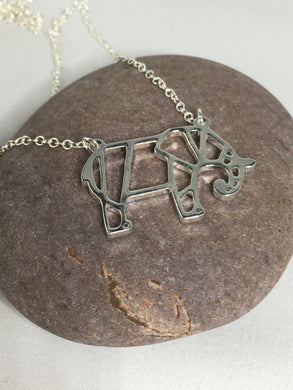 Elephant Necklace Pendant - Whaleycorn.com