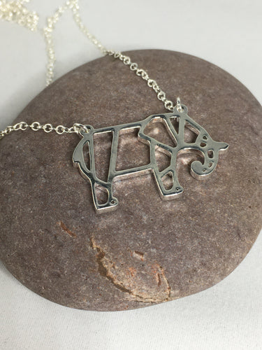 Elephant Necklace Pendant