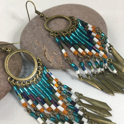 Boho Dangly Earrings,  - Whaleycorn.com