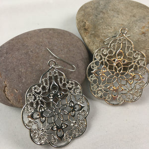 Boho Drop Earrings (SALE) (Slight imperfection),  - Whaleycorn.com