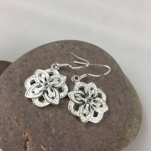 Flower Earrings,  - Whaleycorn.com