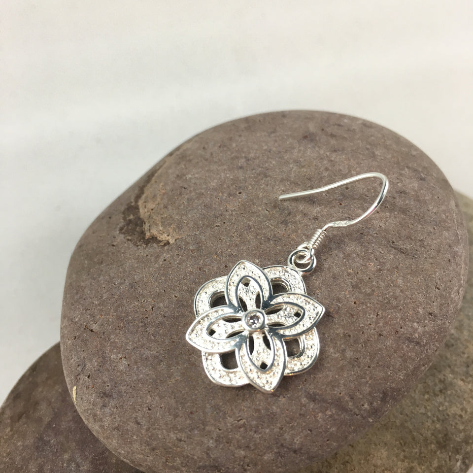 Flower Earrings - Whaleycorn.com