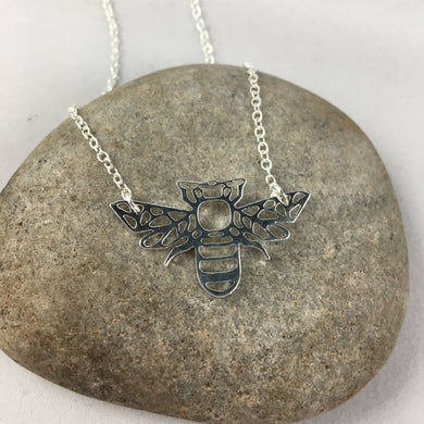 The Bee Pendant Necklace,  - Whaleycorn.com