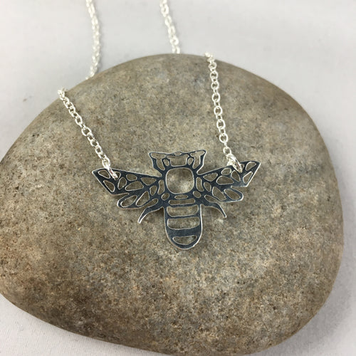 The Bee Pendant Necklace