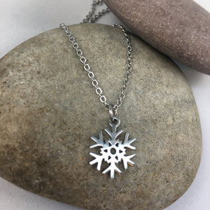 Snowflake Pendant Necklace,  - Whaleycorn.com