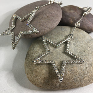Statement Star Earrings - Whaleycorn.com