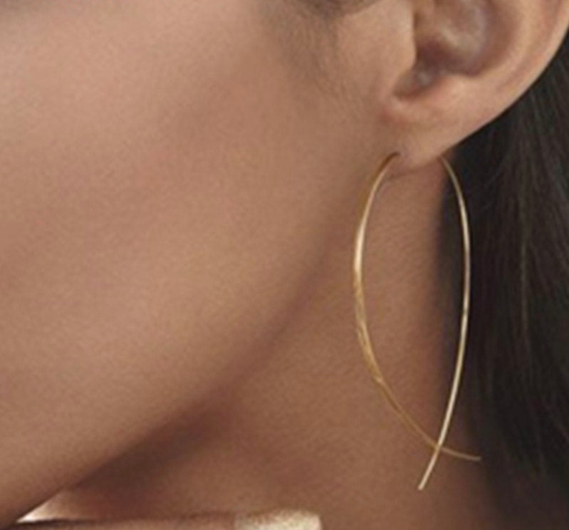 Wire Pull Through Earrings - Whaleycorn.com