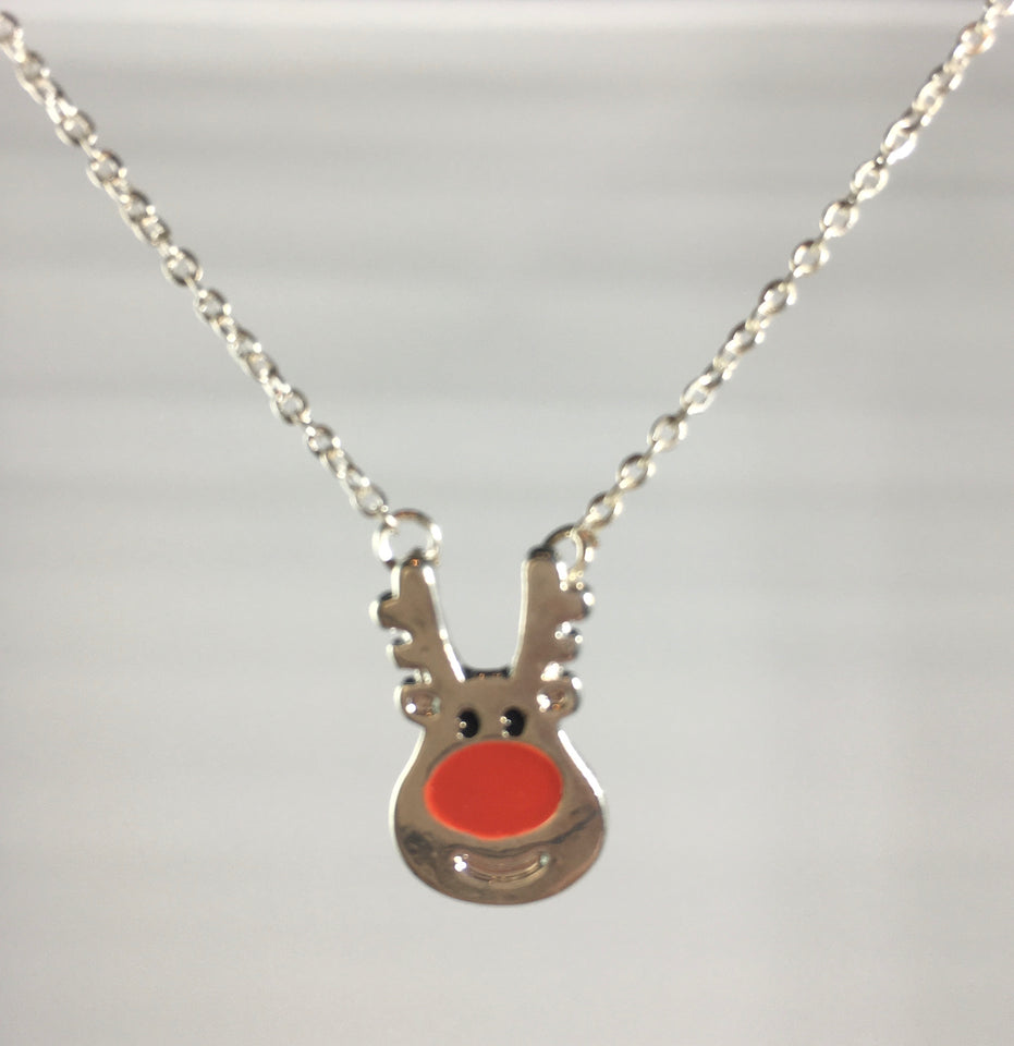 Rudolph Necklace, jewelry - Whaleycorn.com