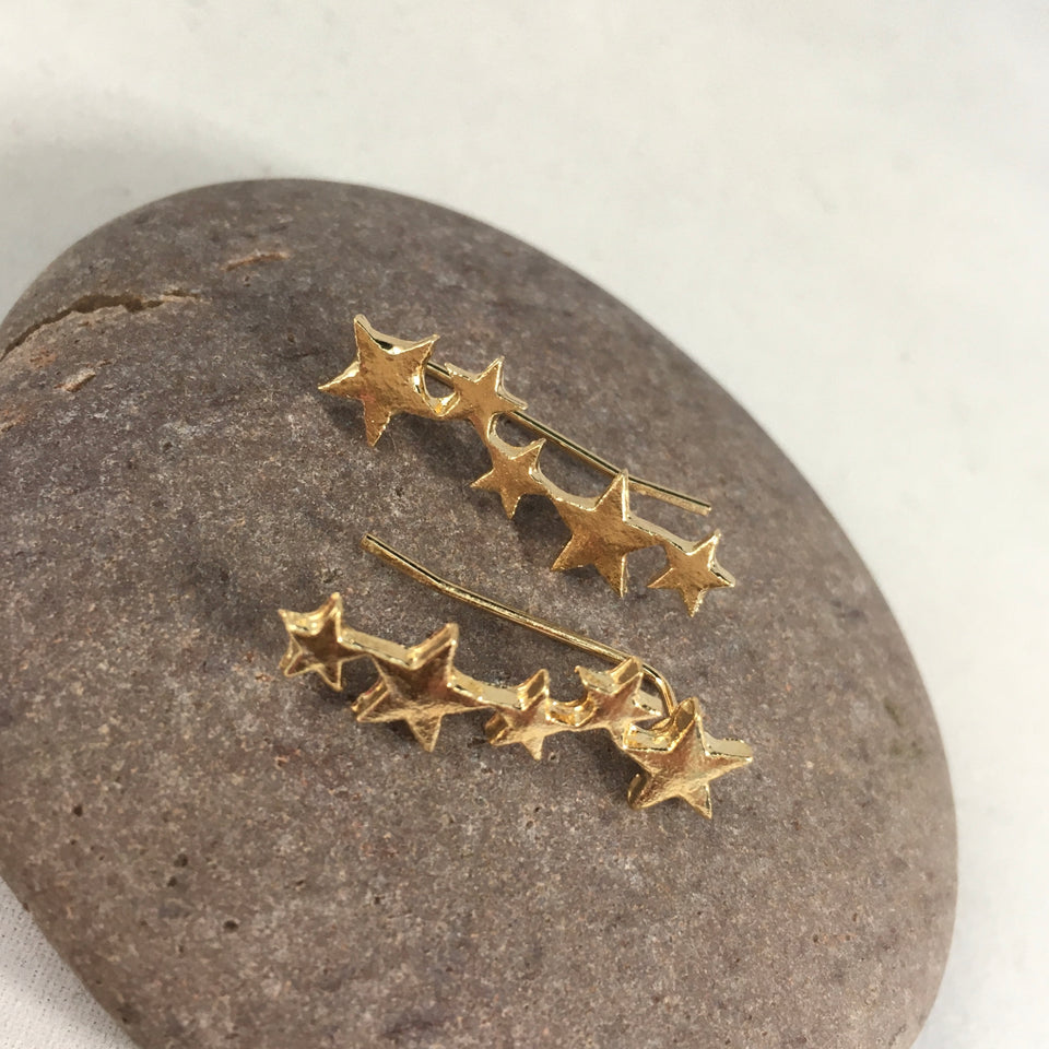 Star Spike Earrings,  - Whaleycorn.com
