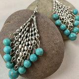 Tribal Drop Earrings,  - Whaleycorn.com