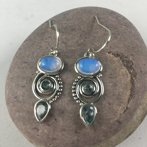 Moonlight Earrings, jewelry - Whaleycorn.com