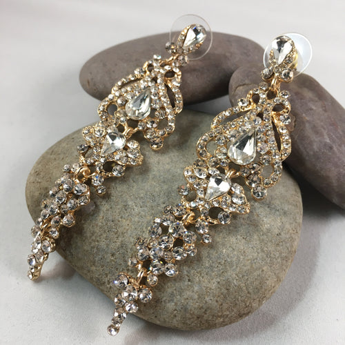 Sparkly Dangle Earrings, jewelry - Whaleycorn.com