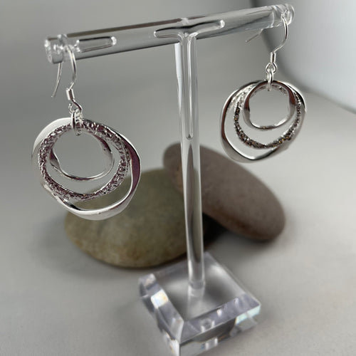 Dangly Circle Earrings - Whaleycorn.com