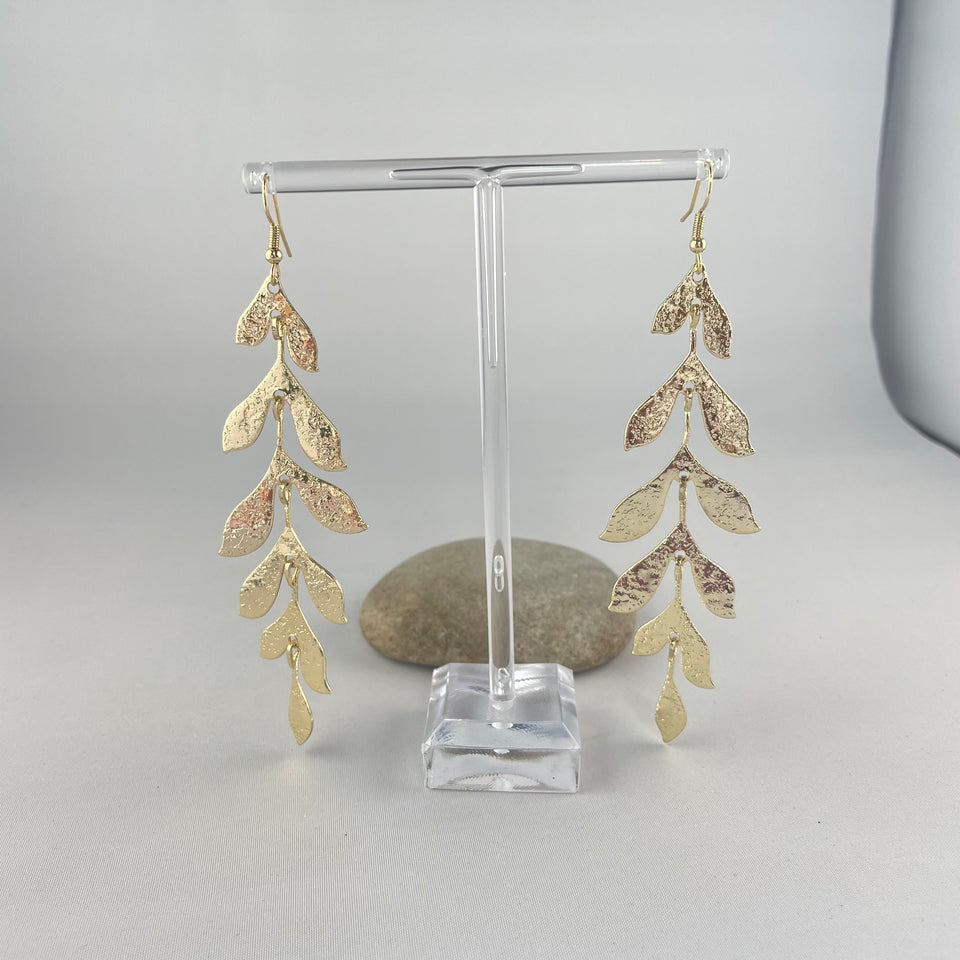 Olive Branch Drop Earrings,  - Whaleycorn.com
