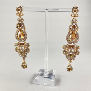 Champagne Coloured Dangles - Whaleycorn.com