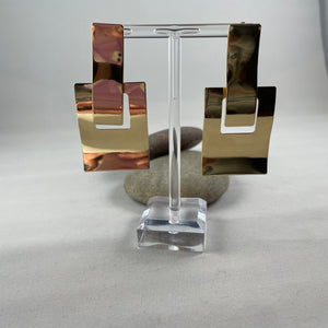 Square Dangle Earrings - Whaleycorn.com