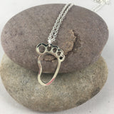 Baby Feet Necklace, jewelry - Whaleycorn.com