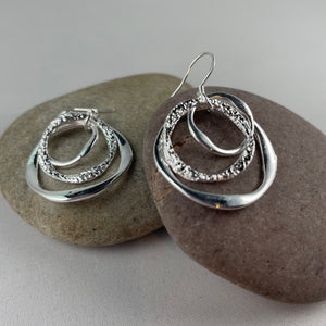 Dangly Circle Earrings,  - Whaleycorn.com