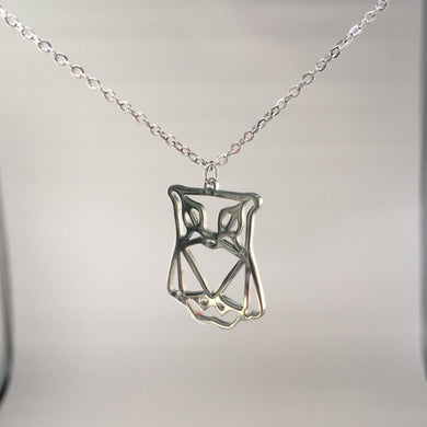 Owl Necklace Silver Plated,  - Whaleycorn.com