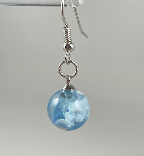 Cloud Dangle Earrings - Whaleycorn.com