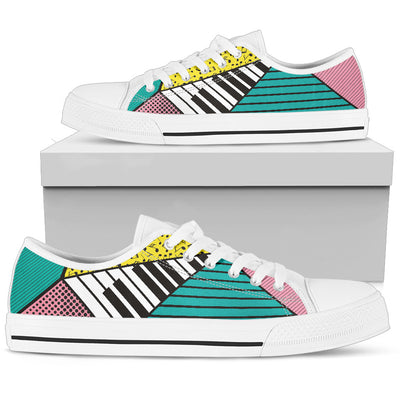 Comic Music Low Top Canvas Shoes - Artistic Pod Review
