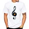 Treble Clef Music Vinyl T-Shirt