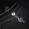 Free - Music Note Double Charm Necklace - Artistic Pod Review