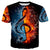 3D Guitar & Music T-Shirt