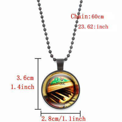 Free - Piano Key Pendant Necklace - Artistic Pod Review