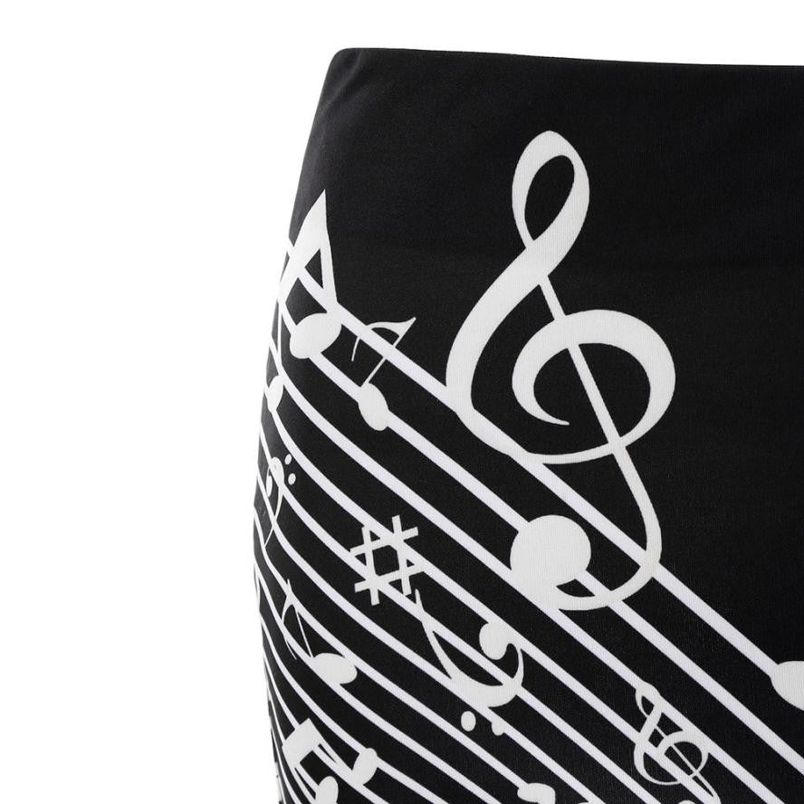 88e8e2de9cb Elegant Floral Music Note Mini Skirt - Artistic Pod Review