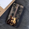 Retro Guitar iPhone Case