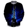 Fire 3D Guitar Jacket