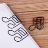 10pcs Black Music Notes Paper Clip