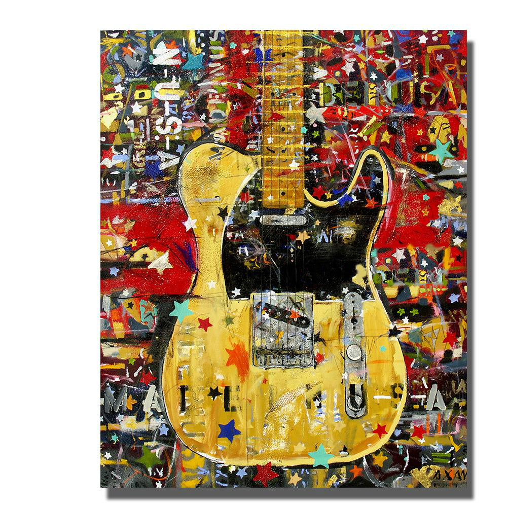 Guitar Canvas Wall Art - Artistic Pod
