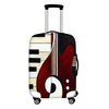 Music Instrument Print Luggage Cover