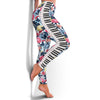 Piano Floral Women's Leggigns