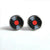 Vinyl Record Stud Earrings