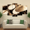 5 Pieces Side View Drum Canvas Art - Artistic Pod Review