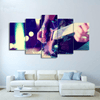 5 Pieces Mood Guitar Canvas Art - Artistic Pod Review