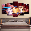 5 Pieces Snare Drum Canvas Art - Artistic Pod Review