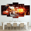 5 Pieces Exposure Drum Canvas Art - Artistic Pod Review