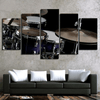 5 Pieces Metal Drum Canvas Art - Artistic Pod Review