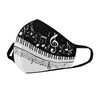 Piano and Music Notes Mask