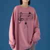 Treble Clef Long Sleeve Shirt