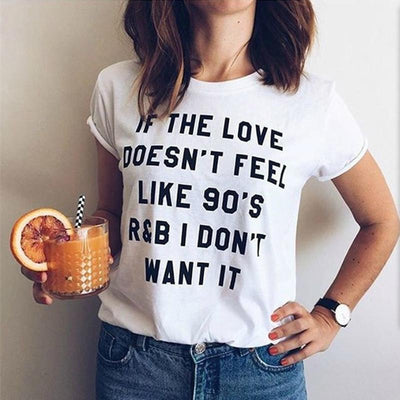 90s R&B Music Love T Shirt - Artistic Pod Review