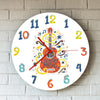 Acoustic Guitar Art Wall Clock